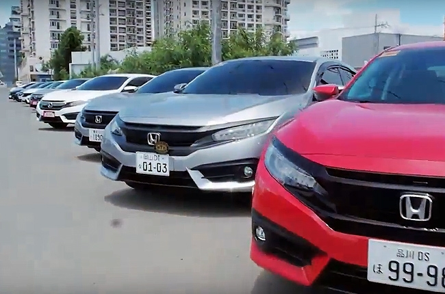 HCMI hosted #hondafestPH at newly opened Honda Manila Bay showroom