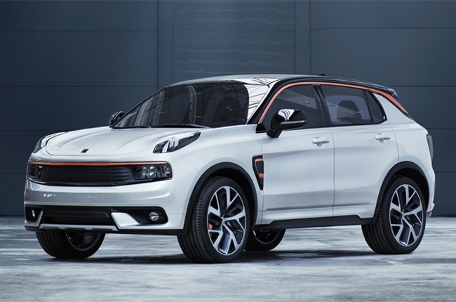 Geely's Lynk & Co. introduces its first car - the 01 crossover
