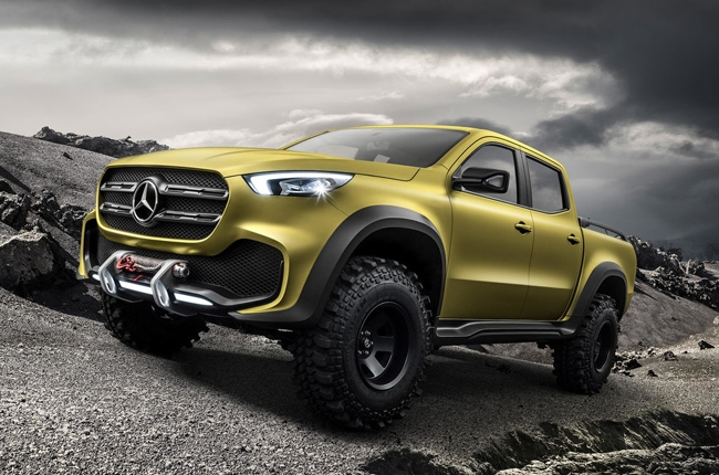 Mercedes-Benz Concept X-Class pickup revealed