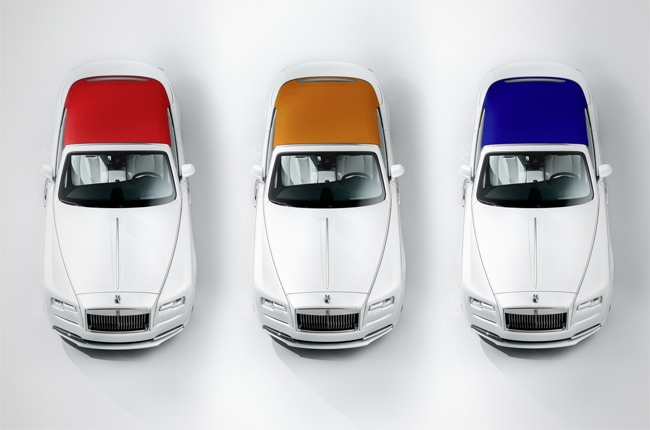 Rolls-Royce releases special edition 'Dawn – Inspired by Fashion'