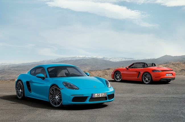 Porsche PH launches 718 Boxster, 718 Cayman
