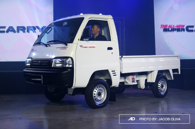 Suzuki PH launches all-new Super Carry commercial vehicle