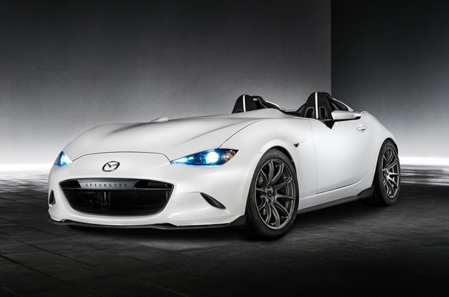 SEMA 2016: Mazda debuts MX-5 Speedster Evolution and MX-5 RF Kuro