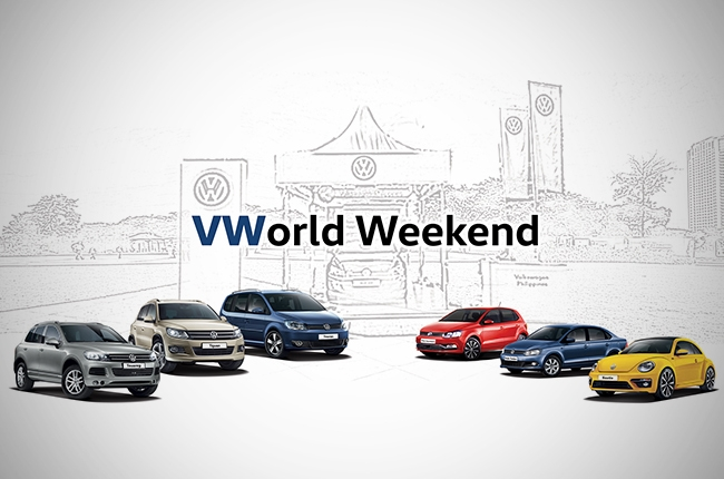 Volkswagen PH to hold 'VWorld Weekend' at Capitol Commons Park