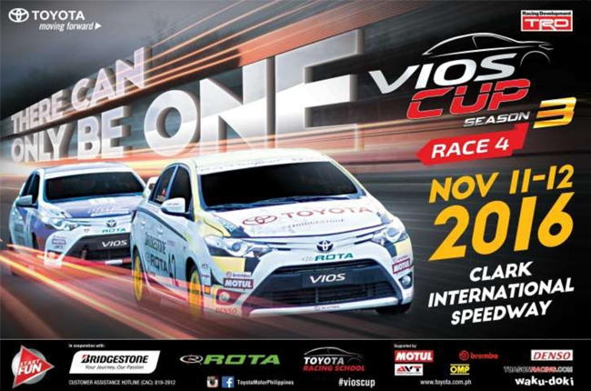 Vios Cup enters its Season 3 finale at Clark International Speedway