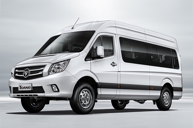 FOTON Toano is a 15-seater van designed to redefine luxury