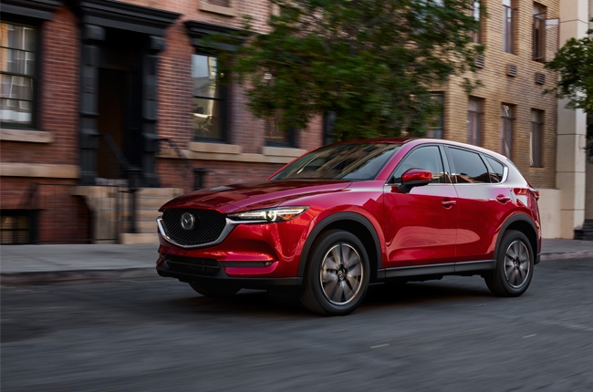 Los Angeles 2016: Mazda CX-5 breaks cover