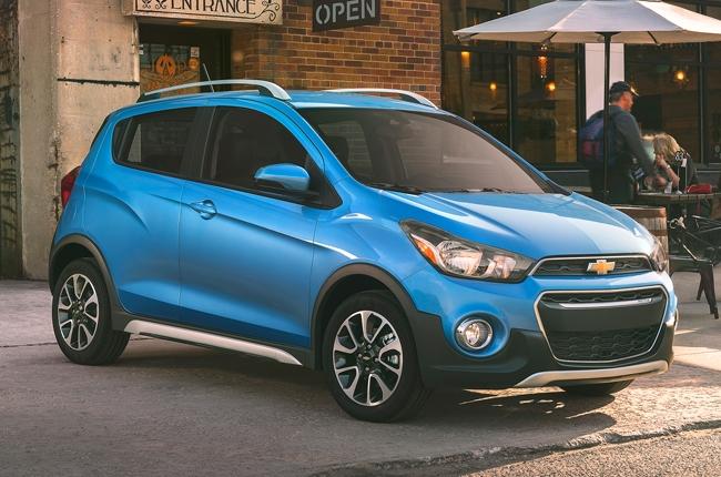 Los Angeles 2016: Chevrolet debuts new Spark ACTIV variant