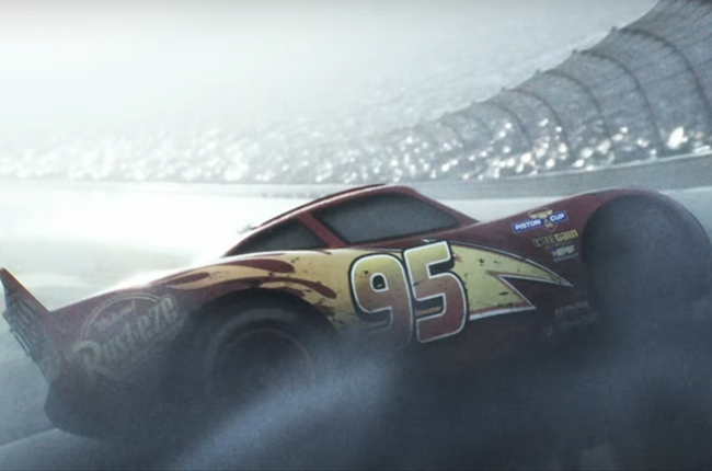 Cars 3 reveals a mystery character and a darker turn in its first teaser