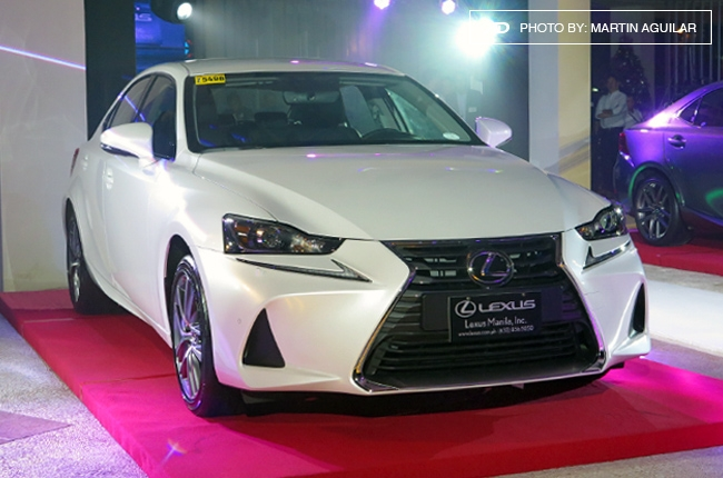 2017 Lexus IS makes PH debut