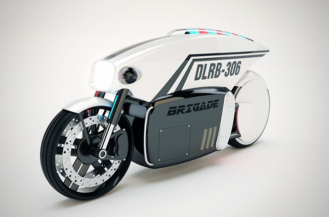 Could this self-driving motorcycle be the future of law enforcement?