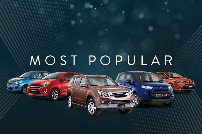 AutoDeal's Most Popular Vehicles of 2016
