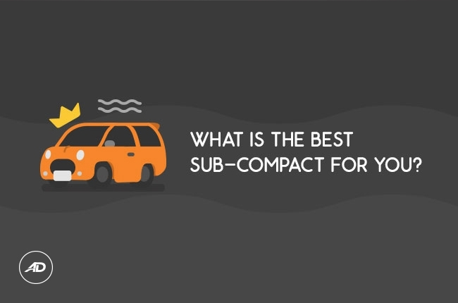 AutoDeal Car Buying Flow Chart: What is the best sub-compact for you?