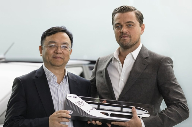 Leonardo DiCaprio to serve as brand ambassador for BYD