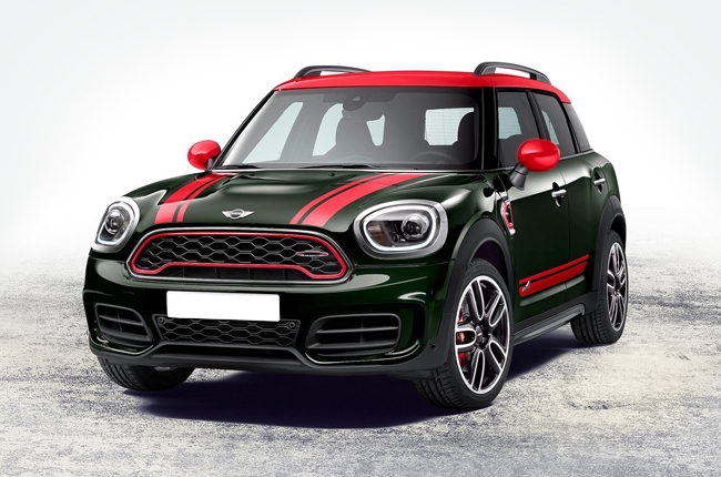 2018 MINI Countryman gets more power with JCW variant