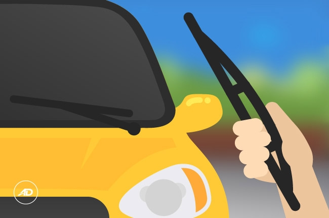 How to replace wiper blades on your own