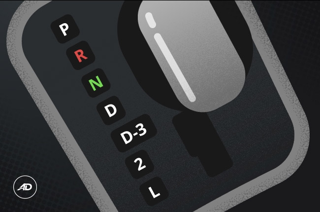 What is L, 2, D3 in automatic transmission?