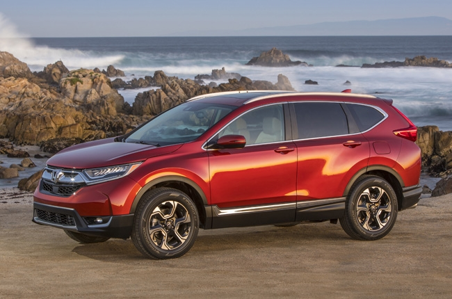 Honda CR-V, HR-V, Pilot, and Odyssey named Best Family Cars of 2017