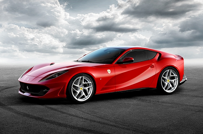 Ferrari unveils 812 Superfast – its fastest model yet