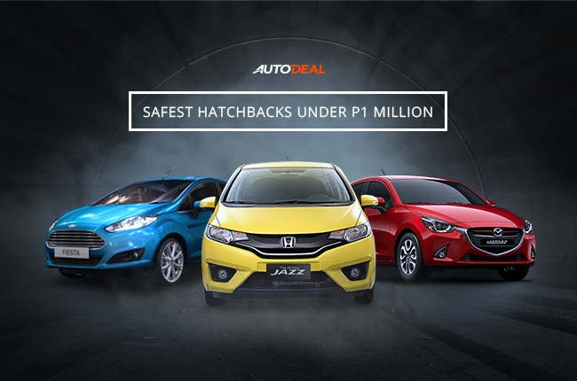 Safest hatchbacks under P1 million