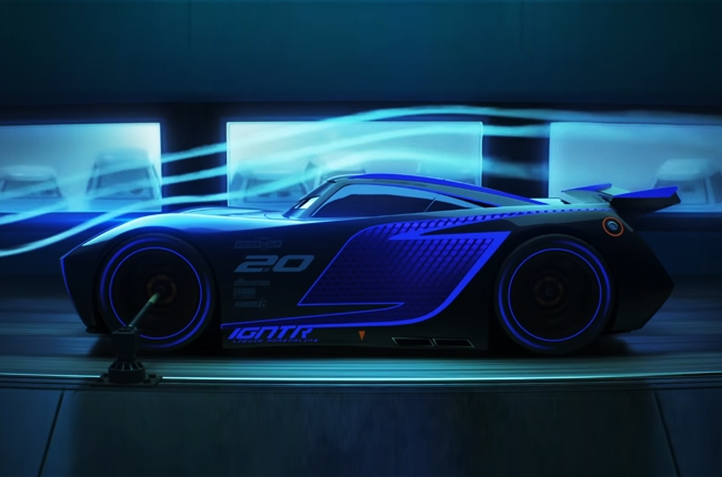 WATCH: New Cars 3 trailer goes in depth with McQueen's rival EV
