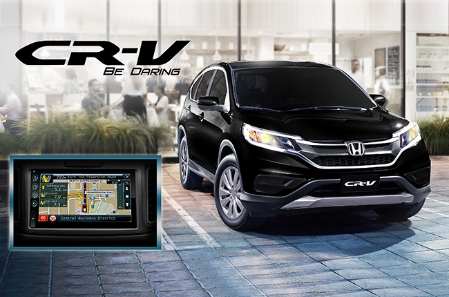 Honda PH introduces limited edition CR-V Navi variant
