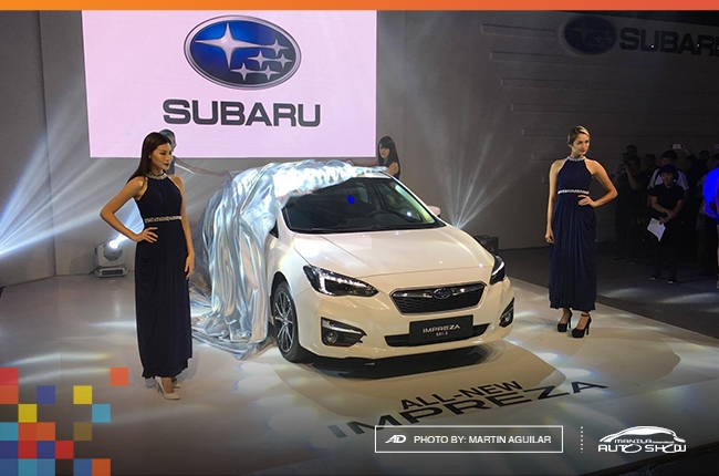 MIAS 2017: Subaru Impreza makes PH debut