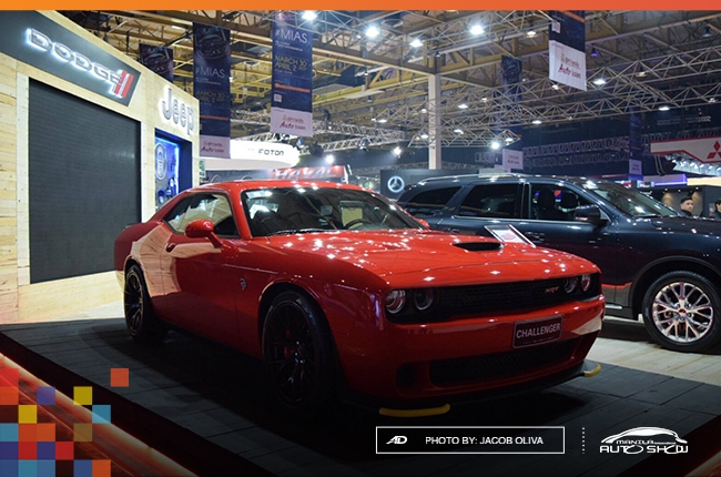 MIAS 2017: Dodge unleashes 707-hp Challenger SRT Hellcat