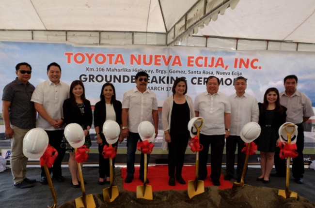 Toyota Nueva Ecija dealership breaks ground