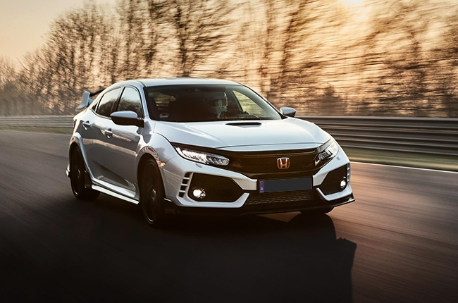 2017 Honda Civic Type R breaks Nürburgring record for fastest FWD car