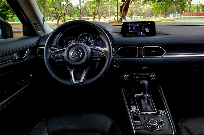Drive safe and undistracted with Mazda Connect