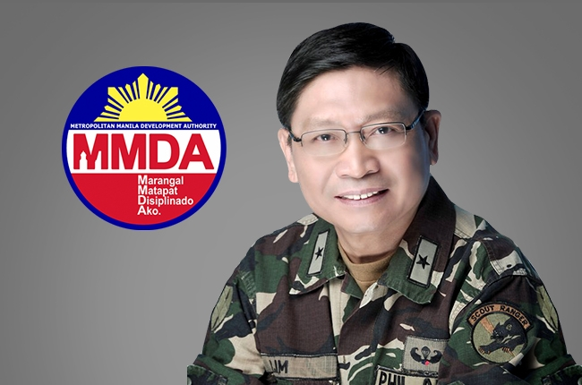 Danilo Lim officially assumes new post as MMDA Chairman