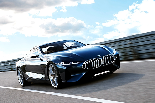 BMW reveals alluring Concept 8 Series