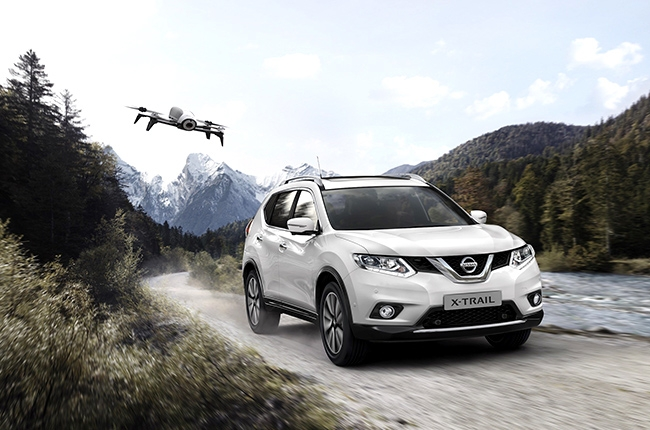 Special edition Nissan X-Trail gets a drone companion