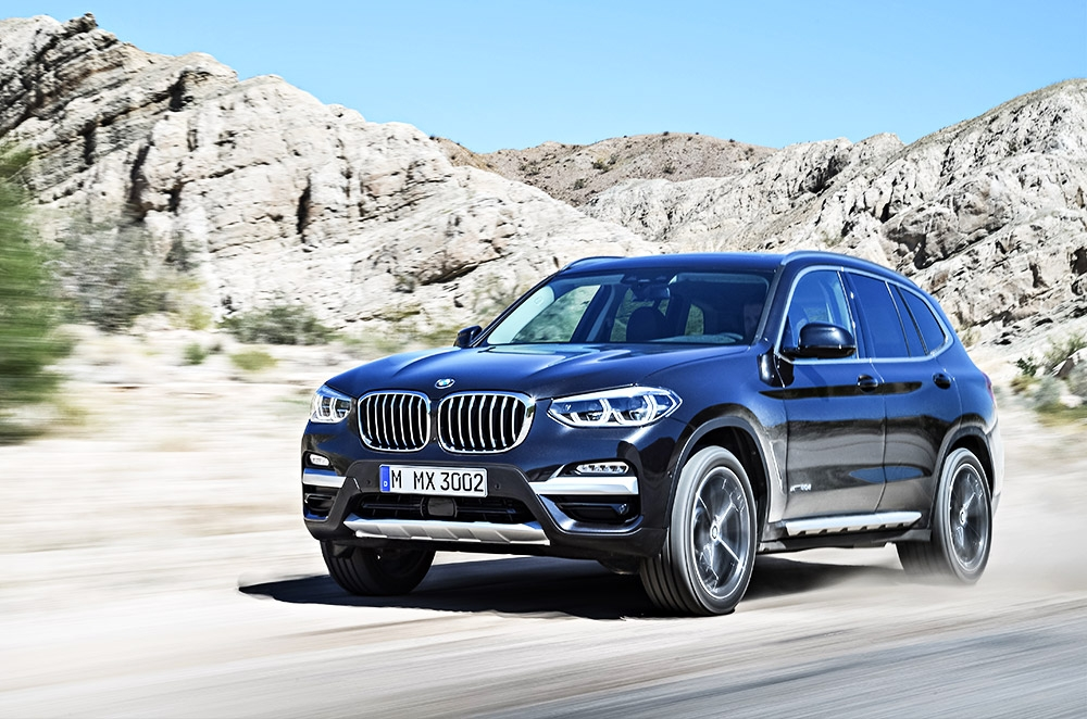 BMW reveals all-new X3 with M performance variant