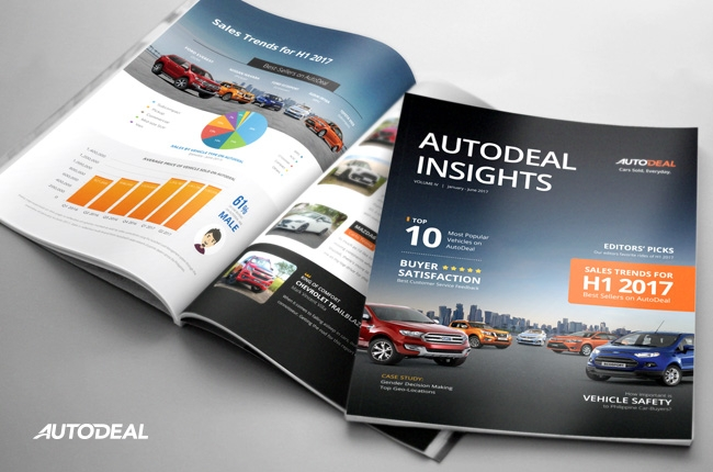 AutoDeal Insights Report shows car-buying trends from H1 2017