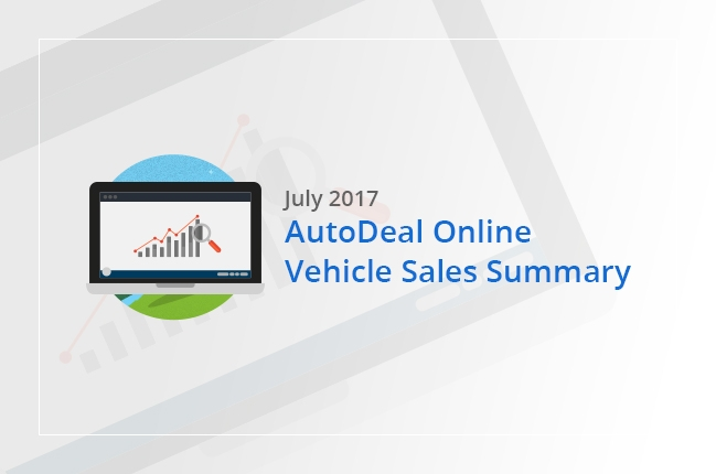 Philippine Online Vehicle Sales Summary - July 2017