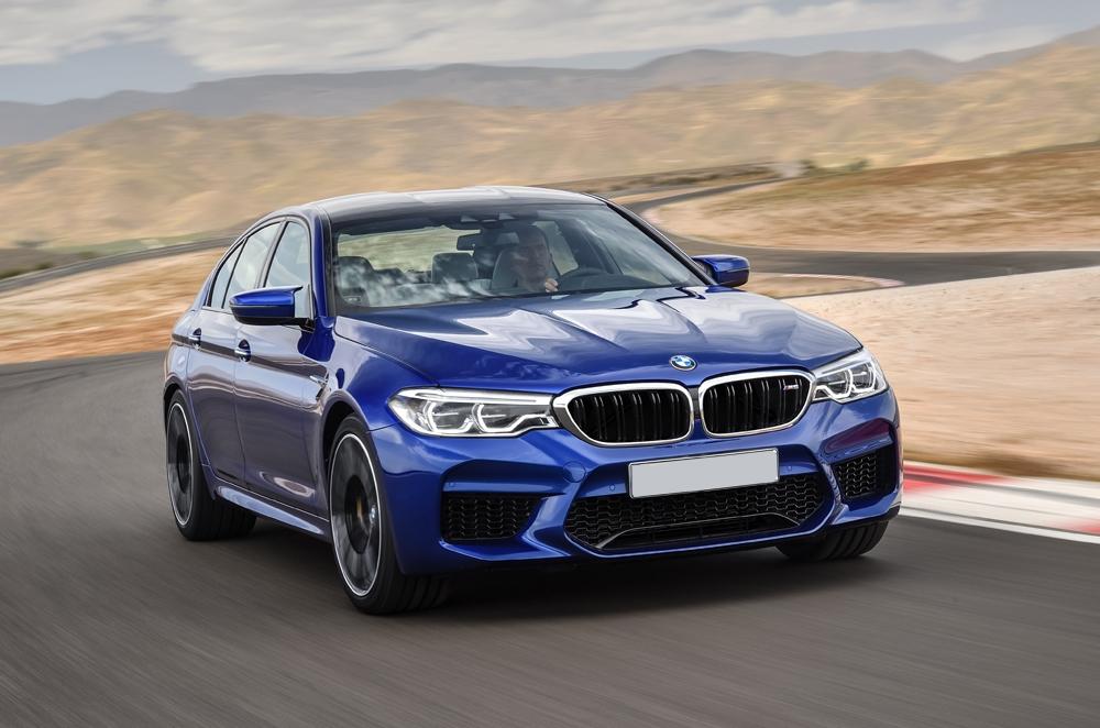 BMW unveils quickest M5 to date