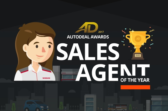 AutoDeal Names Sales Agent of the Year