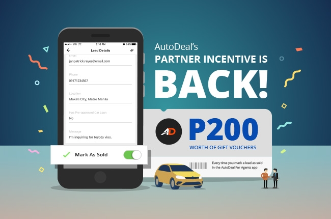 AutoDeal's 'BER month Partner Incentive Program is back