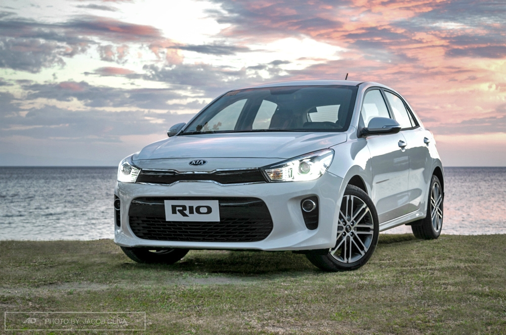 review kia rio hatchback philippines