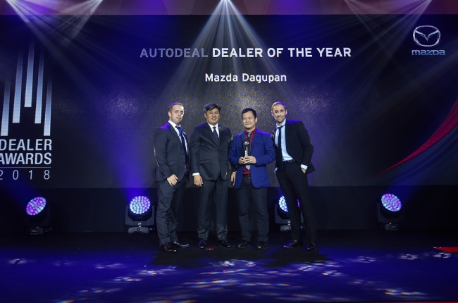 AutoDeal joins Mazda Philippines in awarding top performers