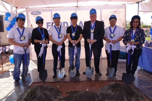 Ford PH begins construction for new Isabela dealership