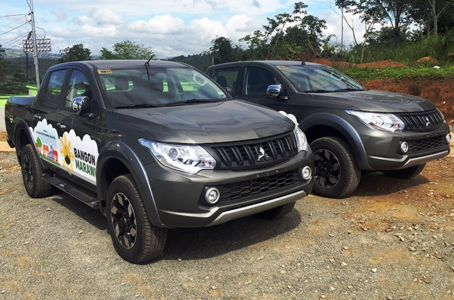 Mitsubishi PH donates 26 vehicles to Task Force Bangon Marawi