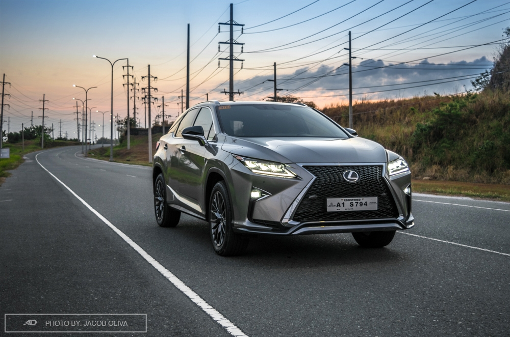 2018 lexus rx 350 F Sport review philippines