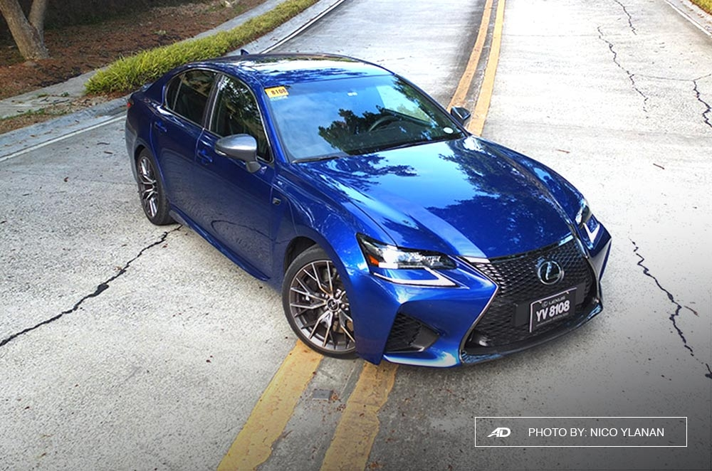 Going against the norm with the Lexus four door powerhouse.
