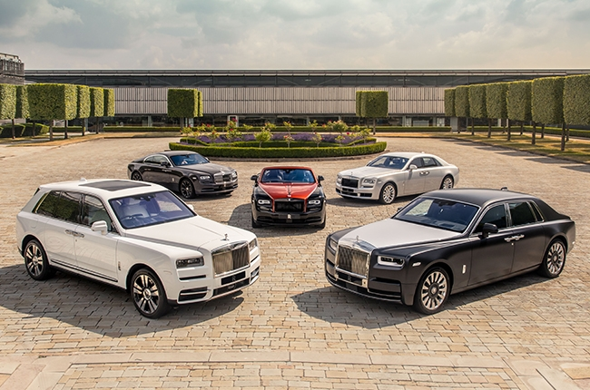 Witness the first ever gathering of bespoke Rolls-Royces in one place