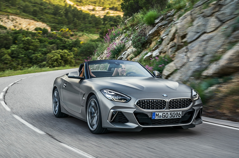 Here are the best bits about the 2019 BMW Z4