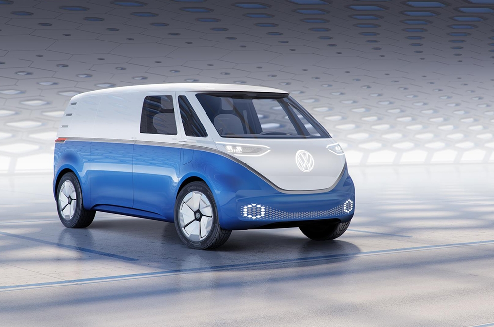 Volkswagen I.D. Buzz Cargo is the Kombi with a job to do