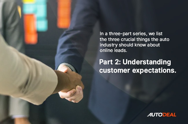 Part 2: Understanding customer expectations